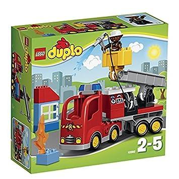 LEGO Duplo El camión de bomberos multicolor
