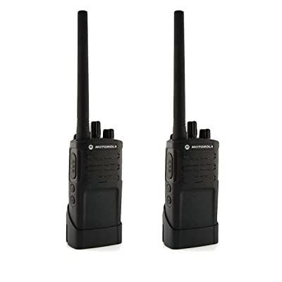Motorola RMV2080 On-Site 8 Channel VHF Rugged Two-Way Business Radio with NOAA (Black) (Two Count): Car Electronics
