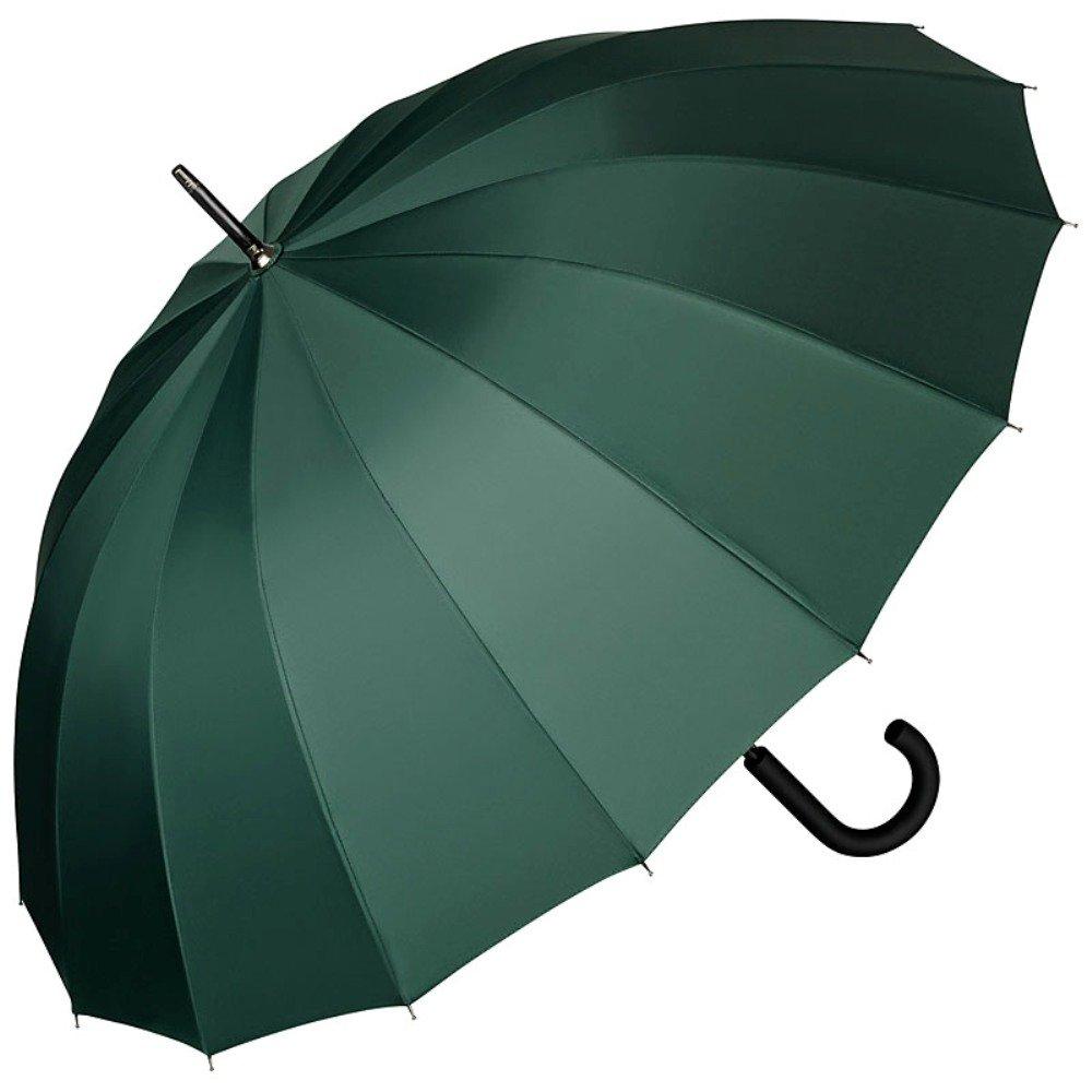 VON LILIENFELD Parapluie Automatique Femme Homme Stable 16 Baleines Segments Devon Bordeaux