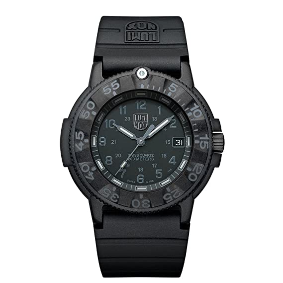 Luminox Original Navy SEAL XS.3001.BO Reloj de Plásticolsera Cuarzo Hombre correa de Plástico Negro: Luminox: Amazon.es: Relojes