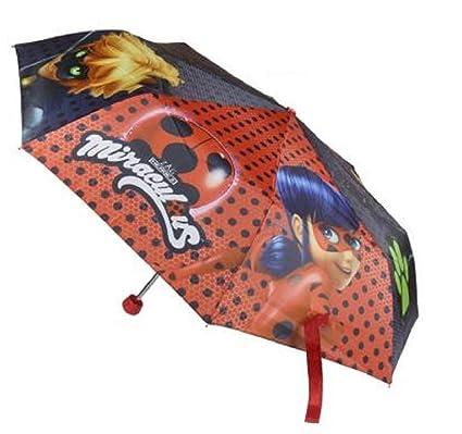 Ladybug miraculous paraguas - paraguas plegable del gato negro