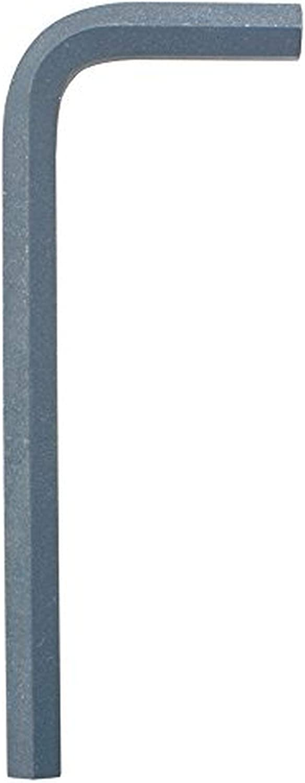 Bondhus 13854 2.5mm Hex Tip Key L Wrench w/ProGuard Finish & Short Arm, 54mm