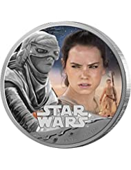 2016 NU Star Wars: The Force Awakens - Rey Silver Proof $2 Brilliant Uncirculated