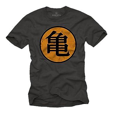 itAbbigliamento Maglietta Gym ShirtAmazon T Roshi's Goku Turtle kOnw0P8