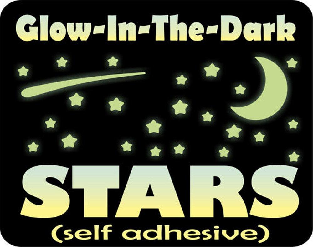 Glow In The Dark Wall Stickers,407PCs luminosi punti Stelle Fluorescenti Adesive da Parete DIY Parete Arte per Decorazioni a parete cameretta bambini Fosforescenti Adesivi murali per Ragazzo Ragazza
