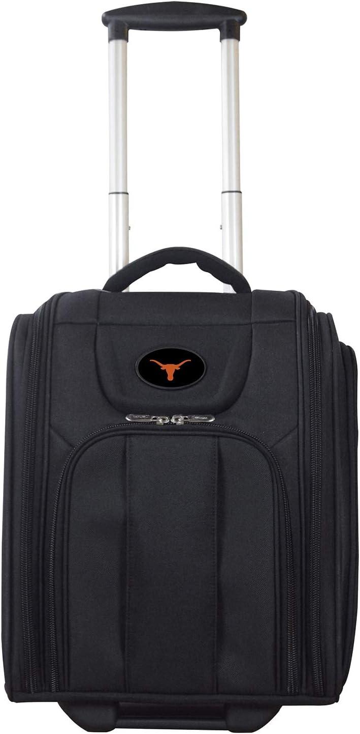 NCAA Texas Longhorns Deluxe Wheeled Laptop Overnighter