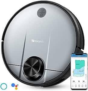 proscenic Robot Aspirador M6 Pro, función de Limpieza 3 en 1, con navegación láser, Control con Alexa y App, Potencia de succión 2600PA y Limpieza selectiva de un área: Amazon.es: Hogar