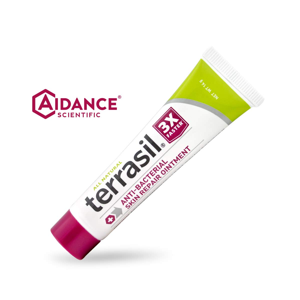 Antibacterial Skin Repair 3X Faster Dr. Recommended 100% Guaranteed All Natural Ointment Fissures Folliculitis Angular Cheilitis Impetigo Chilblains Lichen Sclerosus Boils Cellulitis by Terrasil® by Aidance Skincare & Topical Solutions