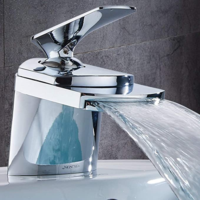 Durable Faucet Water Filters Color : Gold ZXY-NAN Faucet Adjustable Water Temperature Basin Faucet for Bathroom Design Daily Use