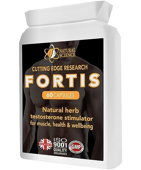Resistencia a la testosterona - FORTIS Soporte de refuerzo probado en laboratorio - Amplificador de zinc