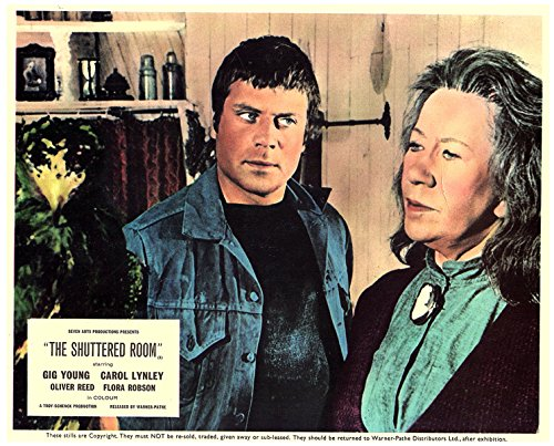 The Shuttered Room Original Lobby Card Oliver Reed Flora Robson 1967
