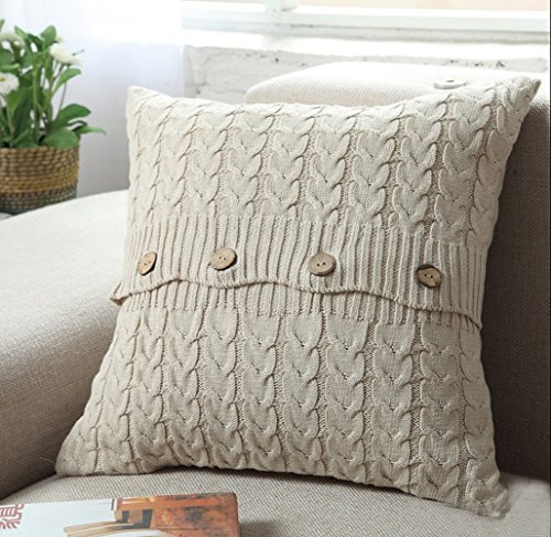 Home-organizer Tech Cotton Removable Knitted Decorative Pill