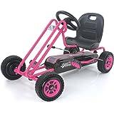 Hauck Lightning - Pedal Go Kart | Pedal Car | Ride On Toys for Boys & Girls with Ergonomic Adjustable Seat & Sharp…