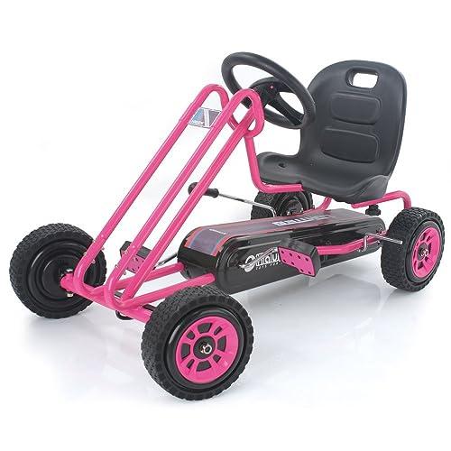 Hauck Lightning - Pedal Go Kart (Pink)