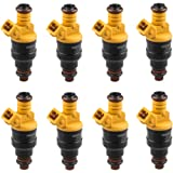 MOSTPLUS Flow Matched Fuel Injectors Compatible for Ford 4.6 5.0 5.4 5.8 Replaces 0280150943 (Set of 8)