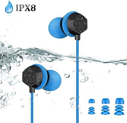 Noir 3.5mm /étanche pour /écouteur Casque sans Fil pour MP3 Radio IPod