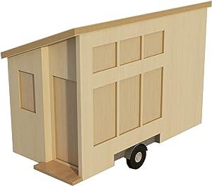 8' X 16' Tiny House on Wheels Plans DIY Fun to build!!