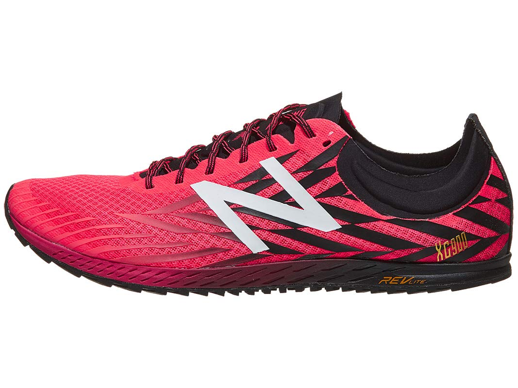 New Balance Men's 9004 Cross Country Running Shoe, Bright Cherry/Black, 11.5 D US