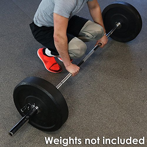 Caslnds 7 Foot Olympic Barbell