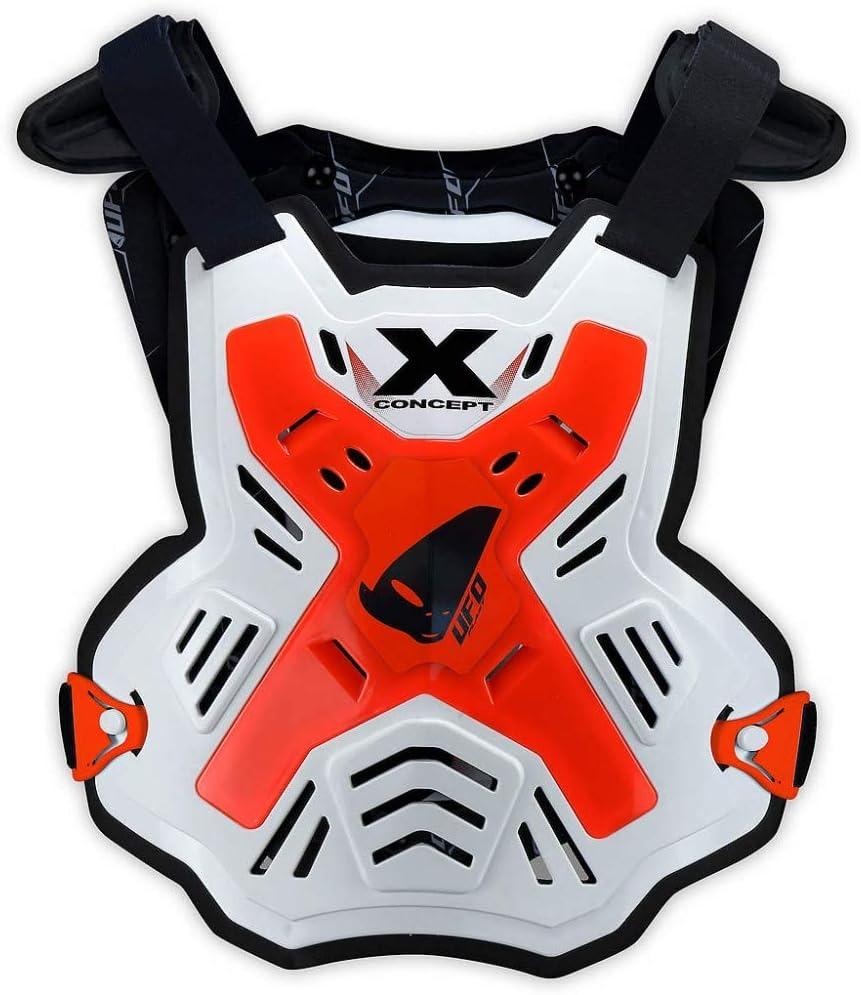 Taglia Unica Pettorina X-Concept One Size Fit all Unisex-Adult Arancio Fluo UFO PLAST PT02386FFLU