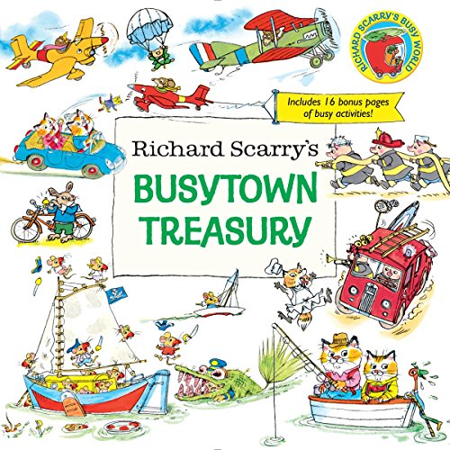 Toddler Storybook - Richard Scarry's Busytown Treasury