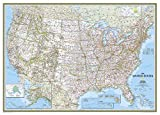 United States Classic [Mural] (National Geographic Reference Map)