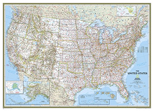 United States Classic [Mural] (National Geographic Reference Map) by National Geographic Maps