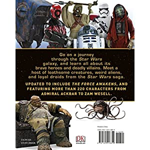 Star Wars Character Encyclopedia, Updated and Expanded Hardcover – April 5, 2016