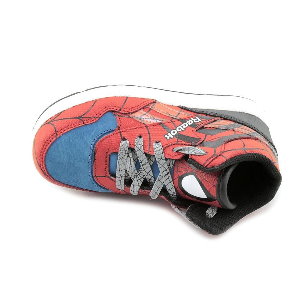 Amazon.com  Reebok Reverse Jam Mid X Marvel Spider Man (Red) Toddler Shoes  J95539  Sports   Outdoors 1f97bddd1