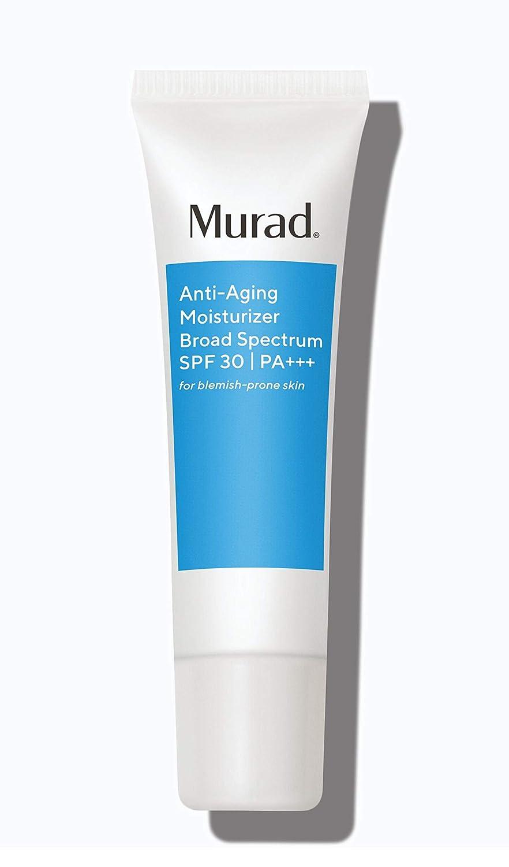 Murad Anti-Aging Moisturizer Broad Spectrum SPF 30 - Grease-Free Face Moisturizer for Women & Men - Anti-Aging Face Cream with SPF, 1.7 Fl Oz