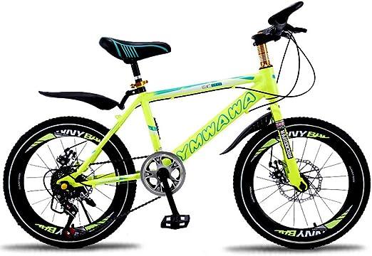 LISI Bicicleta para niños 18/20 Pulgadas Bicicleta de montaña ...