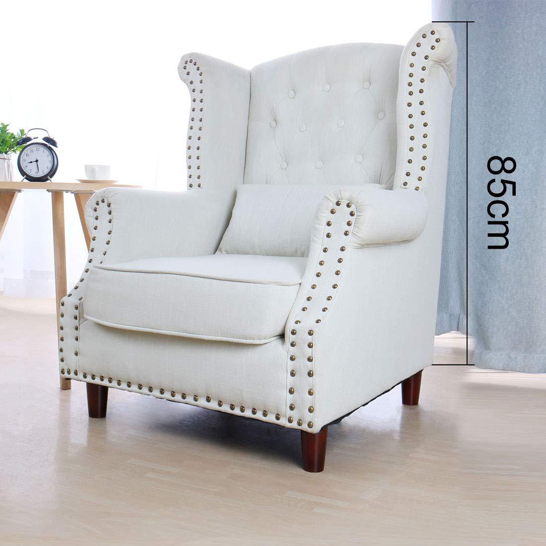 Sourcingmap - Patas redondas de madera maciza para muebles, sofás, sillas, camas, escritorios, armarios, patas de repuesto