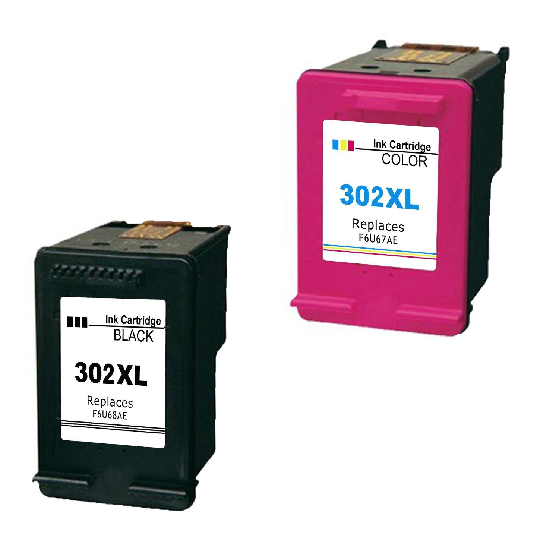 Remanufacturados HP 302 X L – Cartuchos de tinta negro y color para uso con impresoras HP Envy 4520