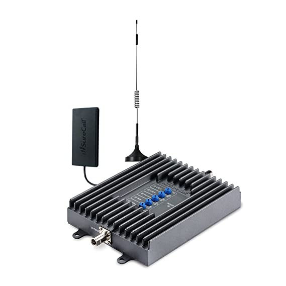 SureCall Fusion2Go Cell Phone Signal Booster Kit for Vehicles, All Carriers  3G/4G LTE