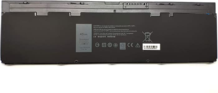 Binger New WD52H Replacement Laptop Battery Compatible with Dell Latitude E7240 KWFFN J31N7 GVD76 HJ8KP 451-BBFW 451-BBFX NCVF0(7.4V 45wh)