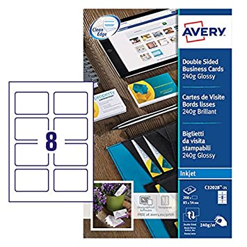 Avery c32028 25 printable double sided glossy business cards 8 avery c32028 25 printable double sided glossy business cards 8 cards per a4 colourmoves