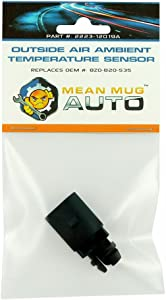 Mean Mug Auto 2223-12019A Outside Air Ambient Temperature Sensor - Compatible with Audi, Volkswagen - Replaces OEM #: 8Z0820535