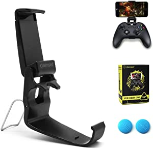 dainslef Xbox One Controller Foldable Mobile Phone Holder Smartphone Clamp Game Clip for Microsoft Xbox One S Game Controller Steelseries Nimbus Duo for iPhone Samsung Sony HTC LG Huawei(Clip Only)