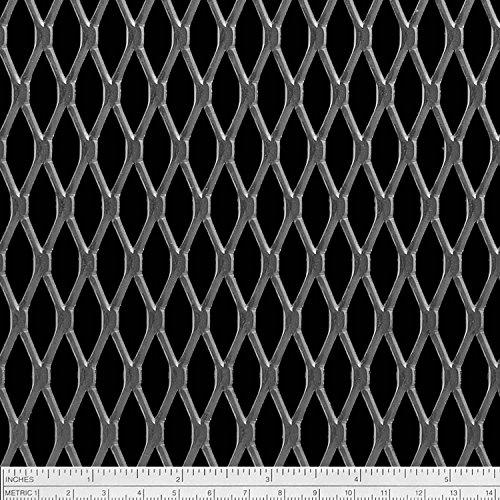 Expanded Metal Sheets - Online Metal Supply Steel Expanded Metal Sheet Flattened (1/2 #13) .078