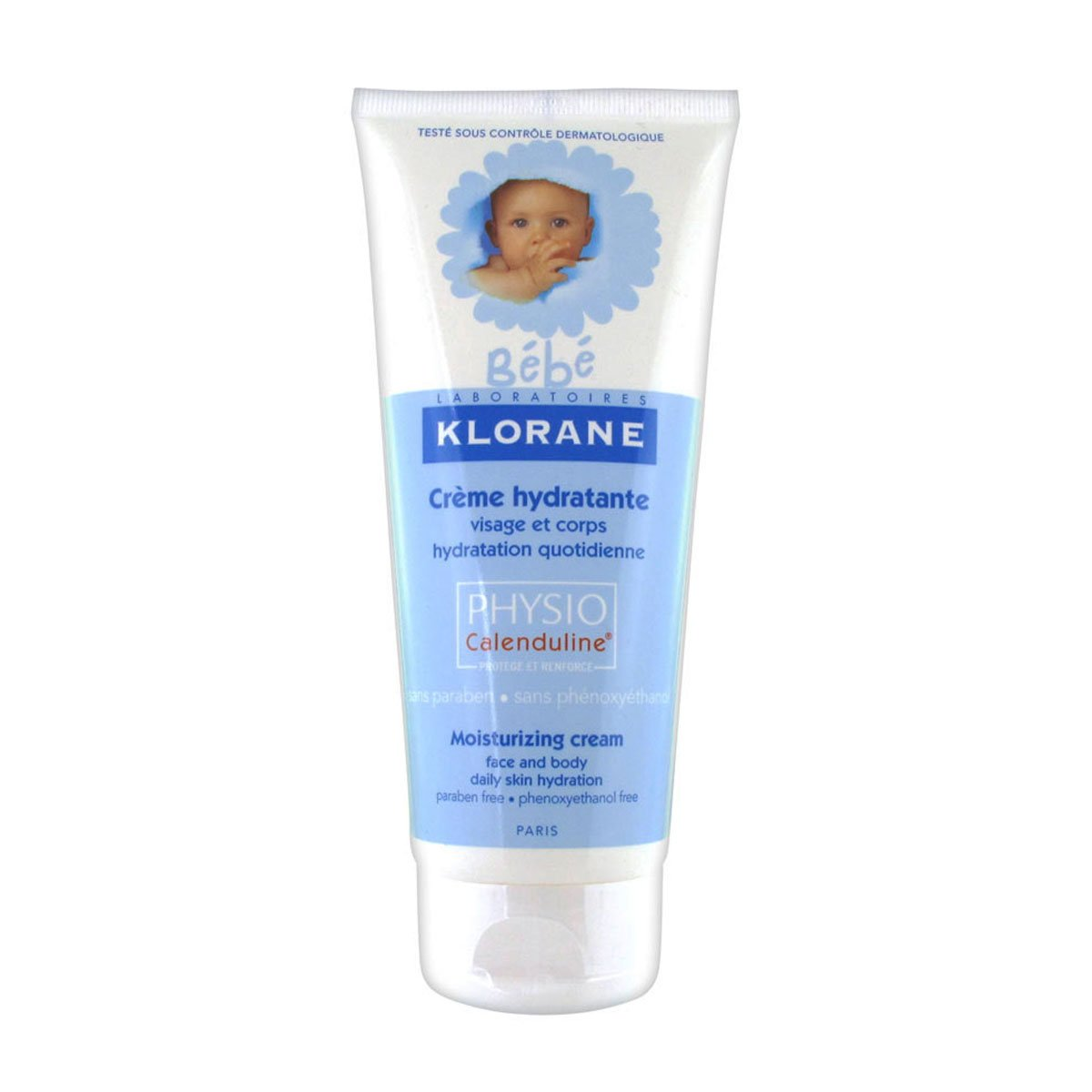 Klorane Baby Moisturizing Cream Vitamin-based 200ml