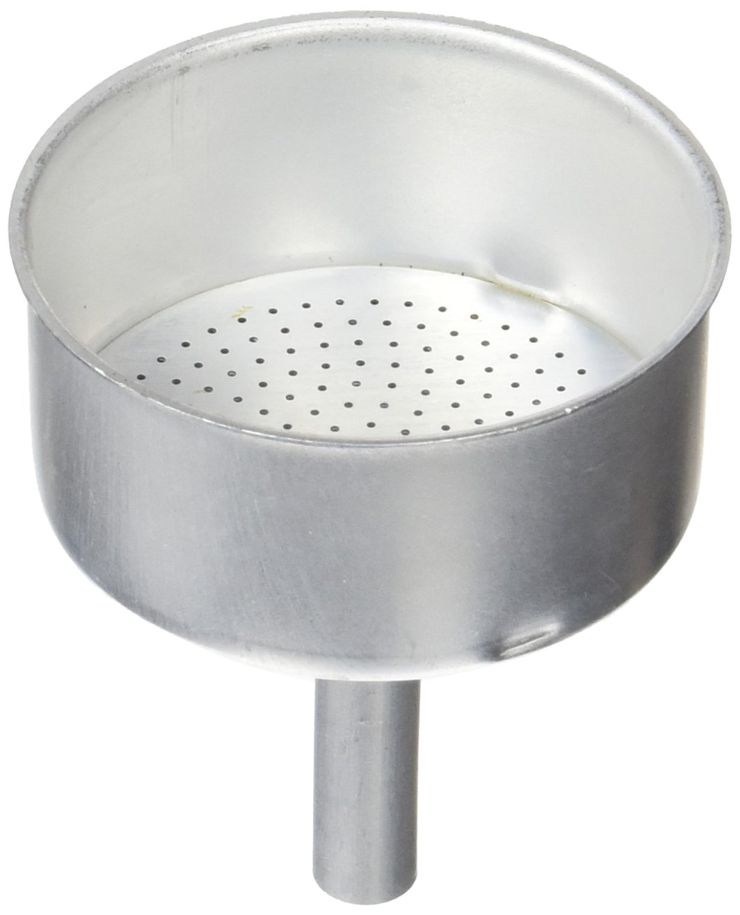 Distribuidora Ersa Filtro con Embudo Cafetera, Aluminio, Gris, 17,6 x 12,7 x 6,8 cm Tecnhogar 01477
