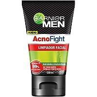 Garnier Men - Acno Fight - Anti-acne, Gel Limpiador Facial, Multicolor, 100 ml