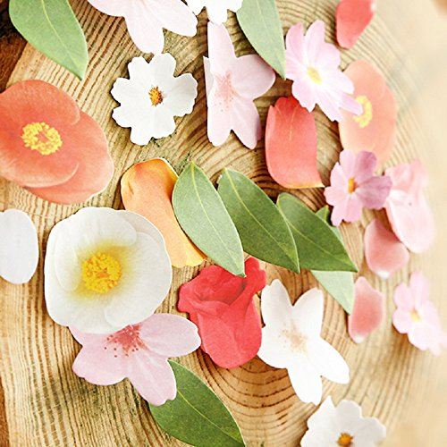 funnylive-post-it-notes-of-flowers-combination-include-rosecamelliacherry-blossomtulip-practical-and