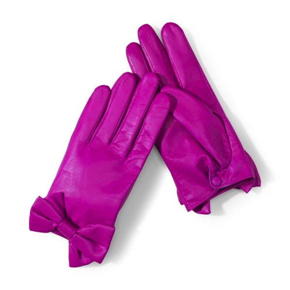 San Diego Hat Company Women's CTG2012 Leather Glove, Fuchsia, One Size