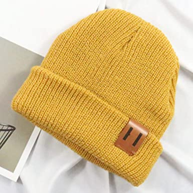d3afd2ea501 Woopower Yellow Baby Beanies Hats