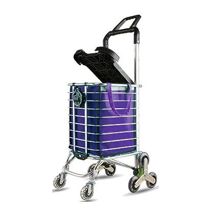 d5e5707a694a9 Carritos para Compras Carro de compras plegable multifuncional del carro de  la compra del carro de ...