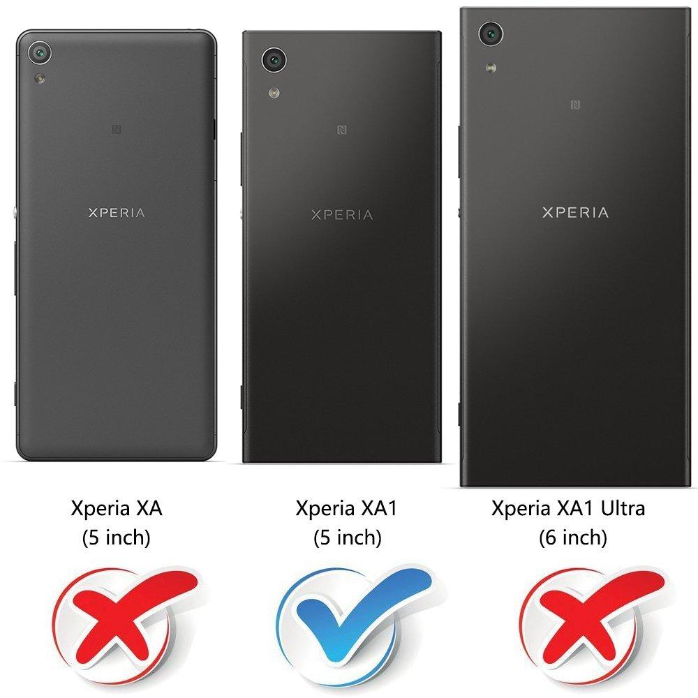 MOBESV Funda para Sony Xperia XA1, Funda Libro Sony Xperia XA1 ...