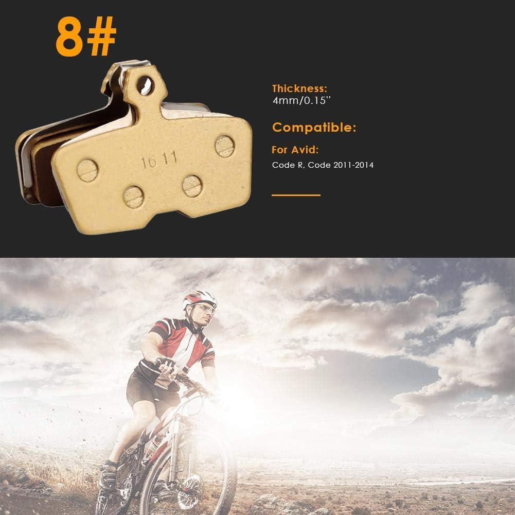 High Performance Bremsbel/äge Disc Brake Pads f/ür Mountainbike Scheibenbremse I Bike Bel/äge I Bremsbelag Everpert Fahrrad Scheibenbremsbel/äge
