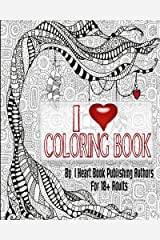 I Heart Coloring Book Paperback