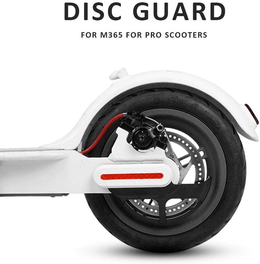 Protector Antioxidante del Freno De Disco para M365 para Scooters Profesionales cuffslee Cubierta del Protector del Freno De Disco